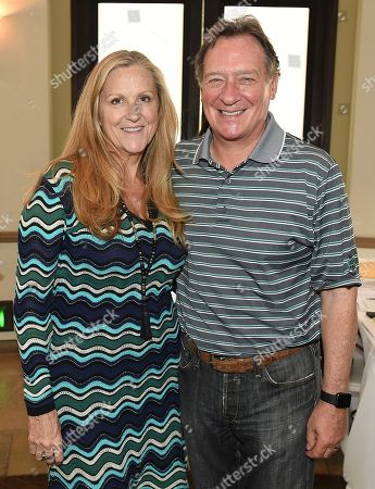 Lori McCreary, Gary Lucchesi. Lori McCreary and Gary Lucchesi attend the second day of the 10th Annual Produced By Conference at Paramount Pictures on in Los Angeles