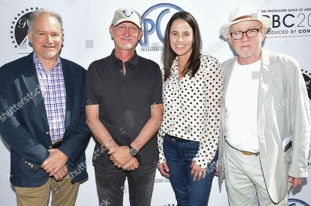 Glenn Kennel, Ian Bryce, Sherri Potter, Steven Poster. Attends the second day of the 10th Annual Produced By Conference at Paramount Studios, in Los Angeles