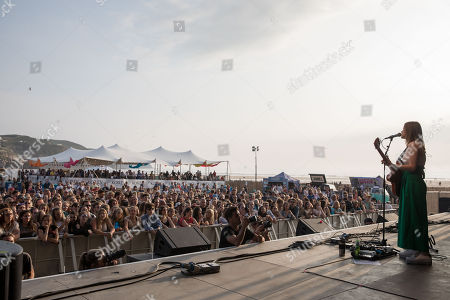 Editorial picture of Tunes in the Dunes music festival, Day 3, in Perranporth, Cornwall, UK - 10 Jun 2018.
