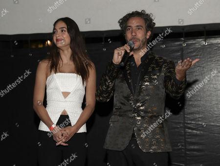 Melissa Barrera and Andres Ibanez Diaz Infante