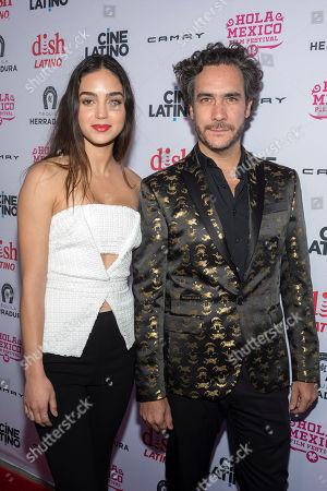 Andres Ibanez Diaz Infante and Melissa Barrera