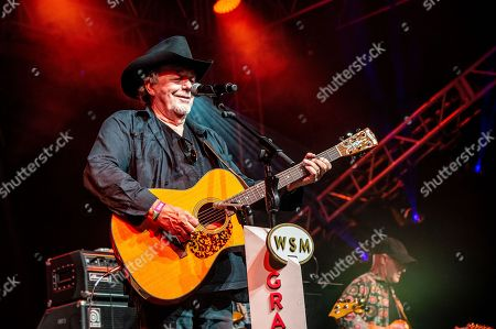 Bobby Bare performs during the Grand Ole Opry at the Bonnaroo Music and Arts Festival, in Manchester, Tenn