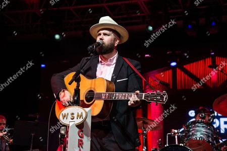 Stock Image of Joshua Hedley performs during the Grand Ole Opry at the Bonnaroo Music and Arts Festival, in Manchester, Tenn