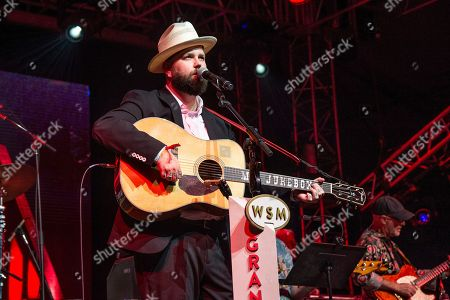 Joshua Hedley performs during the Grand Ole Opry at the Bonnaroo Music and Arts Festival, in Manchester, Tenn