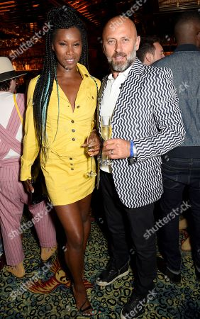 Stock Picture of Aicha McKenzie with guest