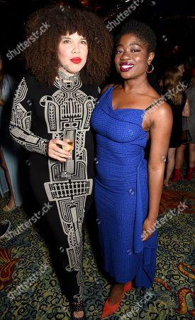 Zezi Ifore and Clara Amfo