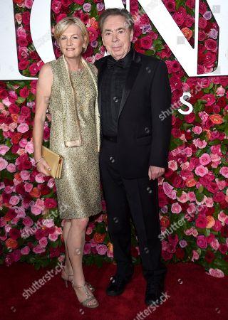 Madeleine Gurdon, Andrew Lloyd Webber. Madeleine Gurdon, left, and Andrew Lloyd Webber arrive at the 72nd annual Tony Awards at Radio City Music Hall, in New York