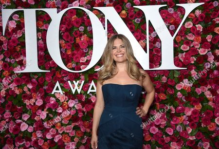 Jennifer Lee arrives at the 72nd annual Tony Awards at Radio City Music Hall, in New York