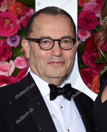 Colin Callender arrives at the 72nd annual Tony Awards at Radio City Music Hall, in New York