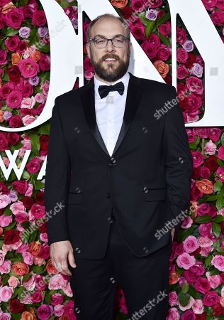 Alexander Gemignani arrives at the 72nd annual Tony Awards at Radio City Music Hall, in New York