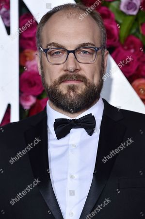 Stock Image of Alexander Gemignani arrives at the 72nd annual Tony Awards at Radio City Music Hall, in New York