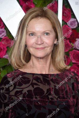 Stock Picture of Joan Allen arrives at the 72nd annual Tony Awards at Radio City Music Hall, in New York