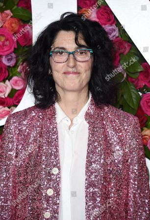Stock Picture of Tina Landau arrives at the 72nd annual Tony Awards at Radio City Music Hall, in New York