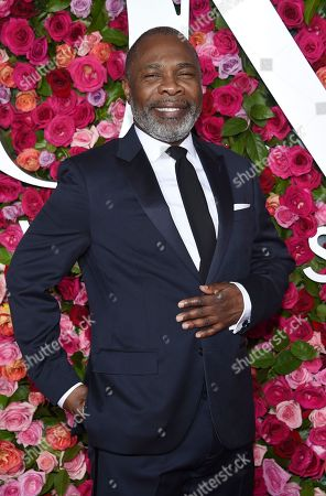 Michael Potts arrives at the 72nd annual Tony Awards at Radio City Music Hall, in New York