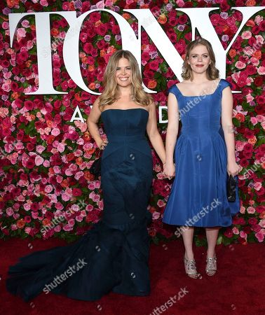 Jennifer Lee, Agatha Lee Monn. Jennifer Lee, left, and Agatha Lee Monn arrive at the 72nd annual Tony Awards at Radio City Music Hall, in New York