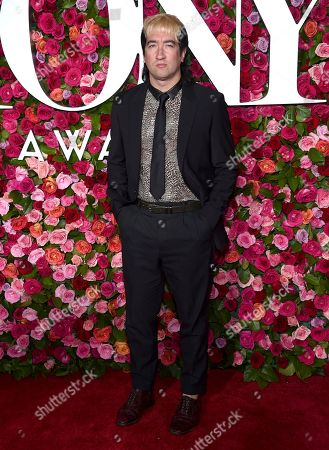 Tom Higgenson arrives at the 72nd annual Tony Awards at Radio City Music Hall, in New York