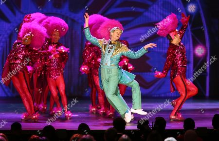"Gavin Lee, of ""SpongeBob SquarePants:The Musical"" performs at the 72nd annual Tony Awards at Radio City Music Hall, in New York"