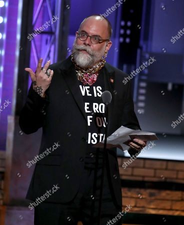 Editorial image of The 72nd Annual Tony Awards - Show, New York, USA - 10 Jun 2018