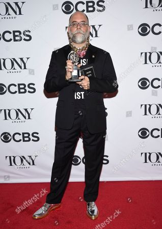 Editorial photo of The 72nd Annual Tony Awards - Press Room, New York, USA - 10 Jun 2018