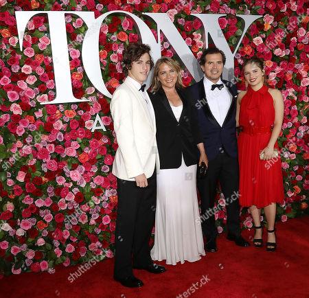 Lucas Leguizamo, Justine Maurer, John Leguizamo and Allegra Leguizamo