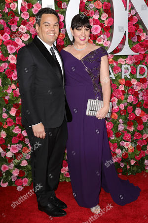 Editorial photo of 72nd Annual TONY Awards - Red Carpet Arrivals, New York, USA - 10 Jun 2018
