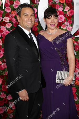Stock Image of Robert Lopez and Kristen Anderson-Lopez
