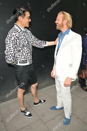 Hu Bing and Alistair Guy