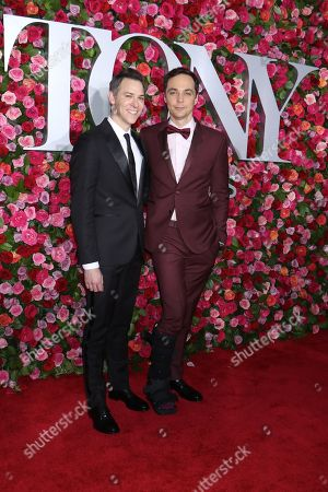 Jim Parsons (R) and Todd Spiewak (L)