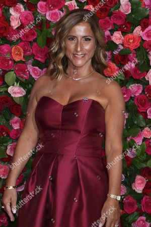 Editorial image of 72nd Annual Tony Awards, Arrivals, New York, USA - 10 Jun 2018
