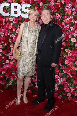 Sir Andrew Lloyd Webber and Madeleine Gurdon