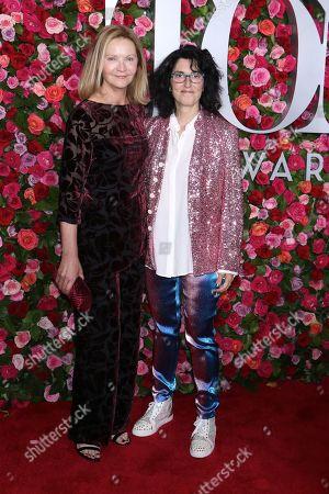 Stock Photo of Joan Allen and Tina landau