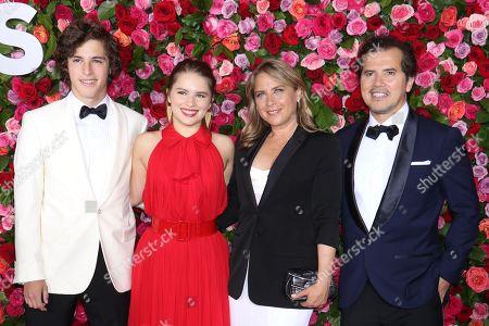 Lucas Leguizamo, Allegra Leguizamo, Justine Maurer and John Leguizamo