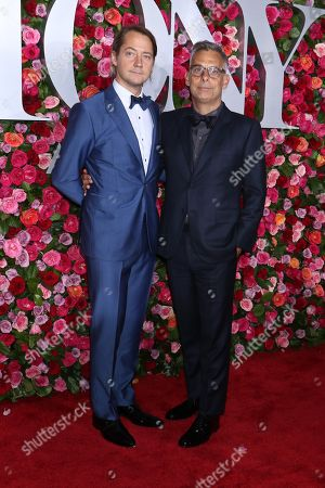 Stock Photo of Paul Marlow and Joe Mantello