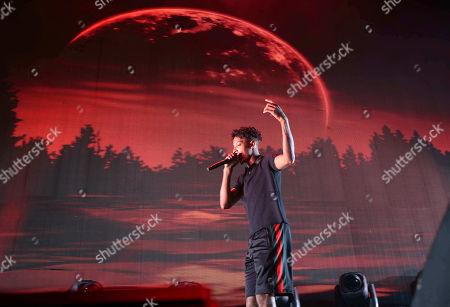 21 Savage, Shayaa Bin Abraham-Joseph. 21 Savage performs as the opener for Post Malon at the Cellairis Amphitheatre at Lakewood, in Atlanta
