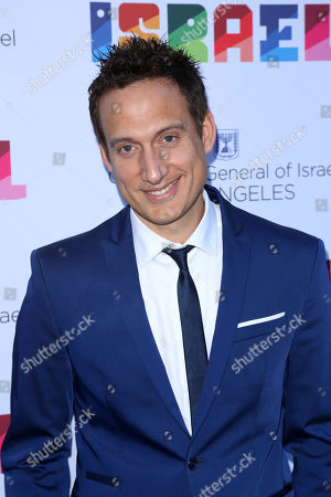 Stock Image of Elon Gold arrives at the Israeli Consulate in LA event to Celebrate the 70th Anniversary of Israel at Universal Studios, in Los Angeles