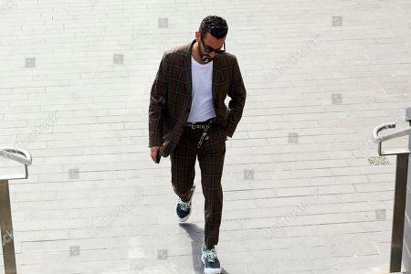 Editorial picture of Street Style, Spring Summer 2019, London Fashion Week Men's, London, UK - 10 Jun 2018