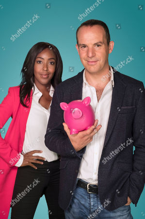 Angellica Bell and Martin Lewis
