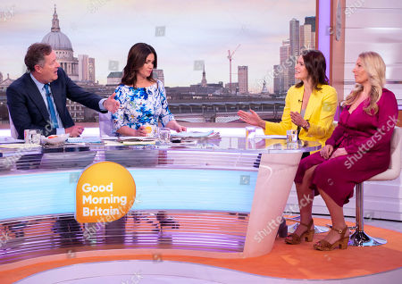 Piers Morgan, Susanna Reid with Elizabeth Day and Kate Mansfield