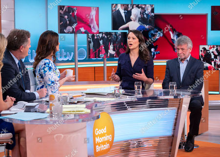 Piers Morgan, Susanna Reid with Nicola Thorp and Neil Wallis