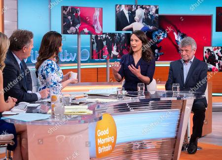 Editorial image of 'Good Morning Britain' TV show, London, UK - 11 Jun 2018