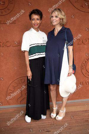 Sylvie Tellier and Sonia Rolland