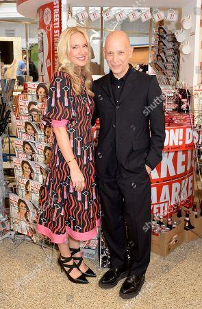 Stock Photo of Rosie Nixon and Adrian Joffe