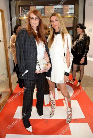 Angela Radcliffe and Caroline Sciamma-Massenet