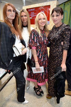 Stock Image of Angela Radcliffe, Caroline Sciamma-Massenet, Rosie Nixon and Pearl Lowe