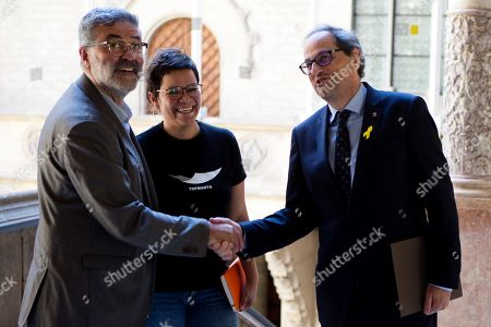 Editorial picture of Meetings at the Catalonian Parliament, Barcelona, Spain - 11 Jun 2018