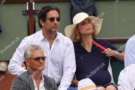 Sylvie Tellier and husband