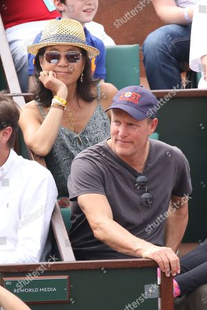 Woody Harrelson and his wife Laura Louie