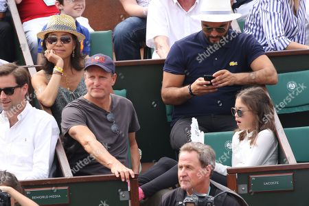 Editorial picture of French Open, Celebrities, Roland Garros, Paris, France - 10 Jun 2018