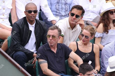 Clive Owen, Tim Roth and his wife Nikki Butler