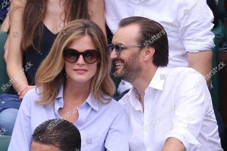 Cyril Lignac and girlfriend Marine
